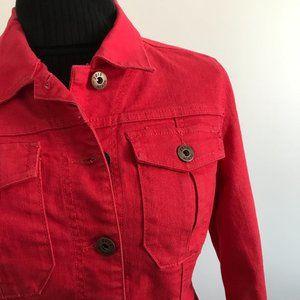 Parasuco - Pink Jean Jacket/ Coat